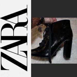 NEW Shiny booties
